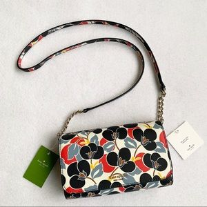 AUTH. KATE SPADE SMALL FLAP CROSSBODY/CLUTCH BNWT